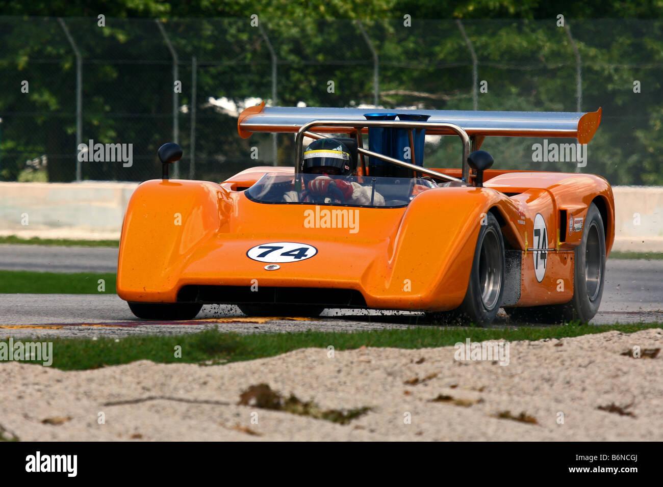 Kohler International Challenge Vintage Racing Road America 2008 - Stock Image