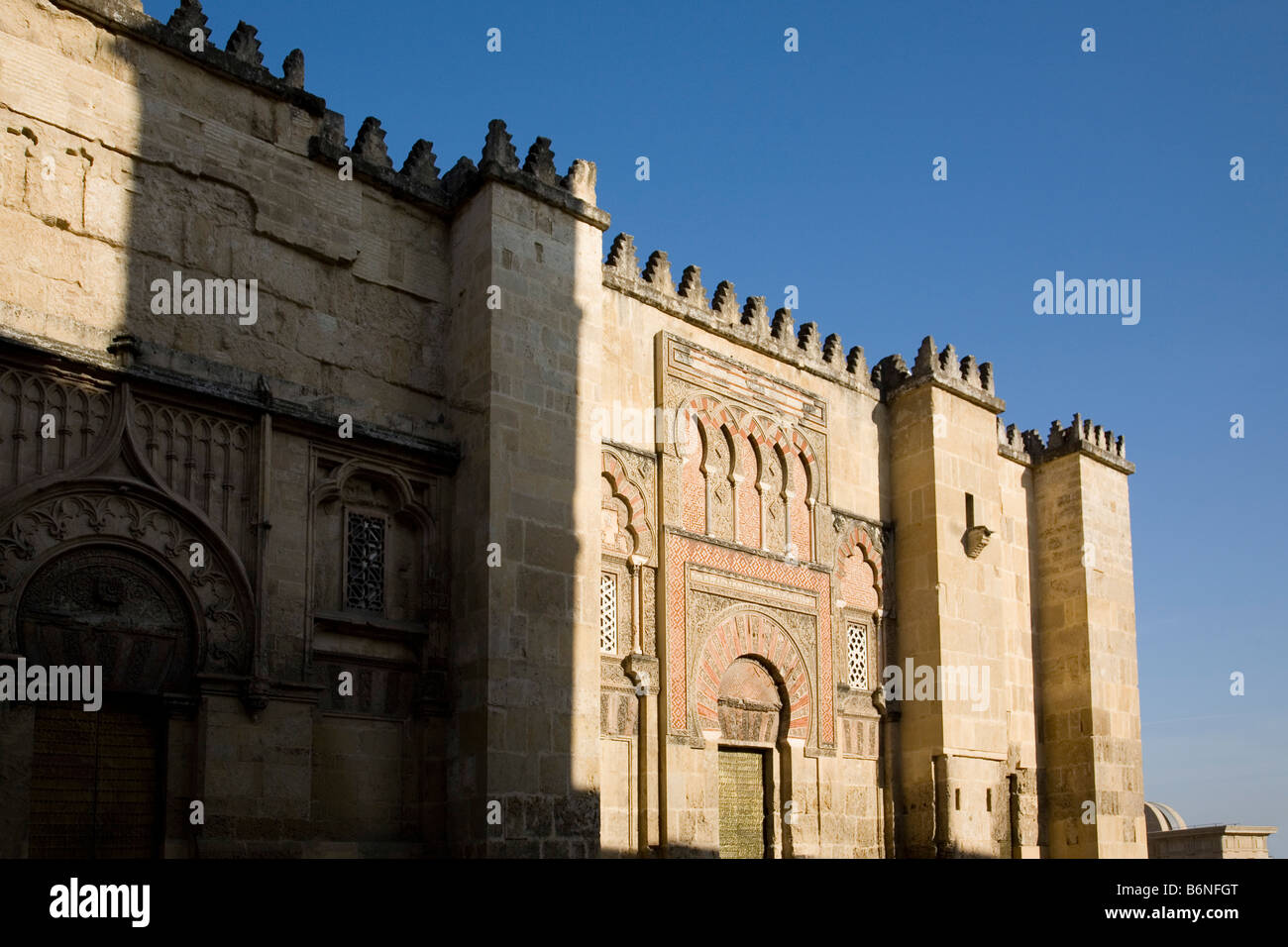exterior de la mezquita catedral de cordoba andalucia españa cordova cathedral mosque andalusia spain Stock Photo