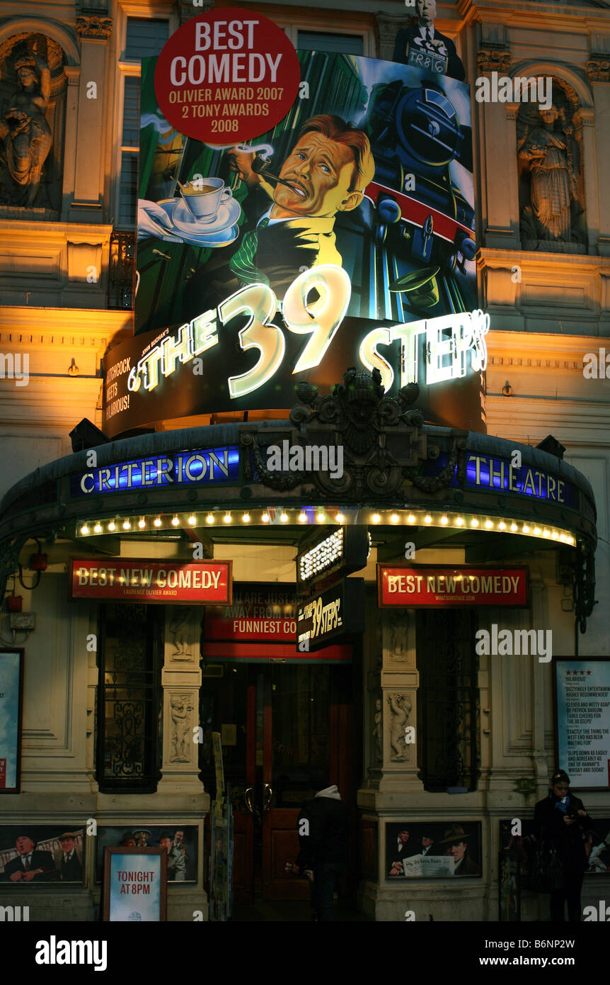 Criterion Theatre in Piccadilly Circus, London - Stock Image