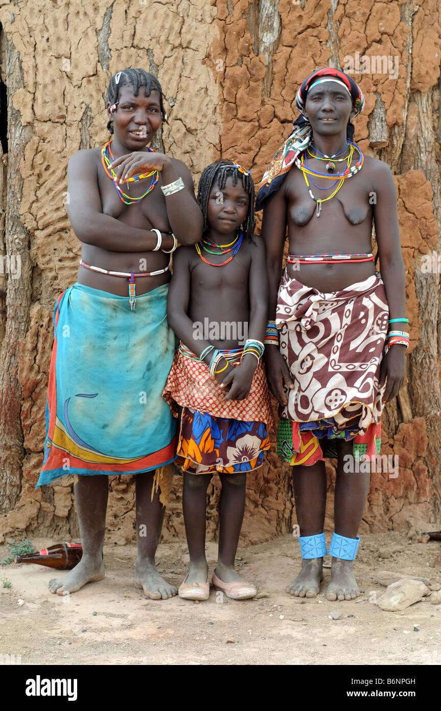 zemba opuwo namibia - Stock Image