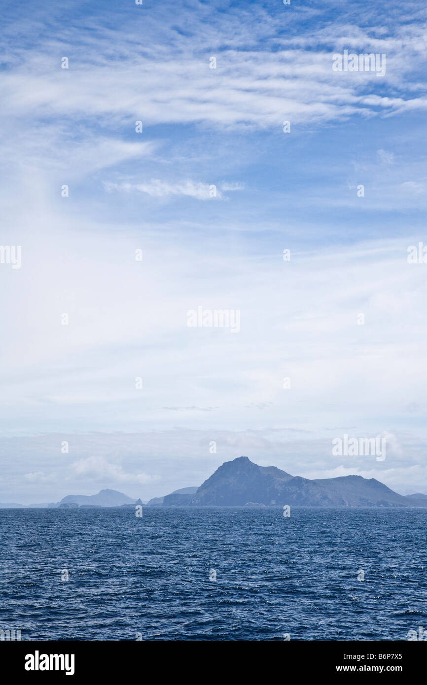 Cape Horn island southernmost headland of Tierra del Fuego archipelago of southern Chile South America - Stock Image