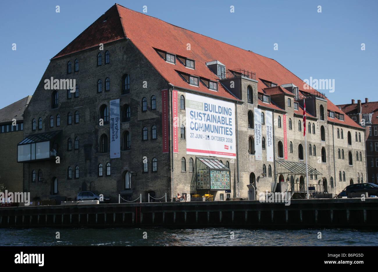 Danish Architecture Centre Copenhagen Denmark - Stock Image