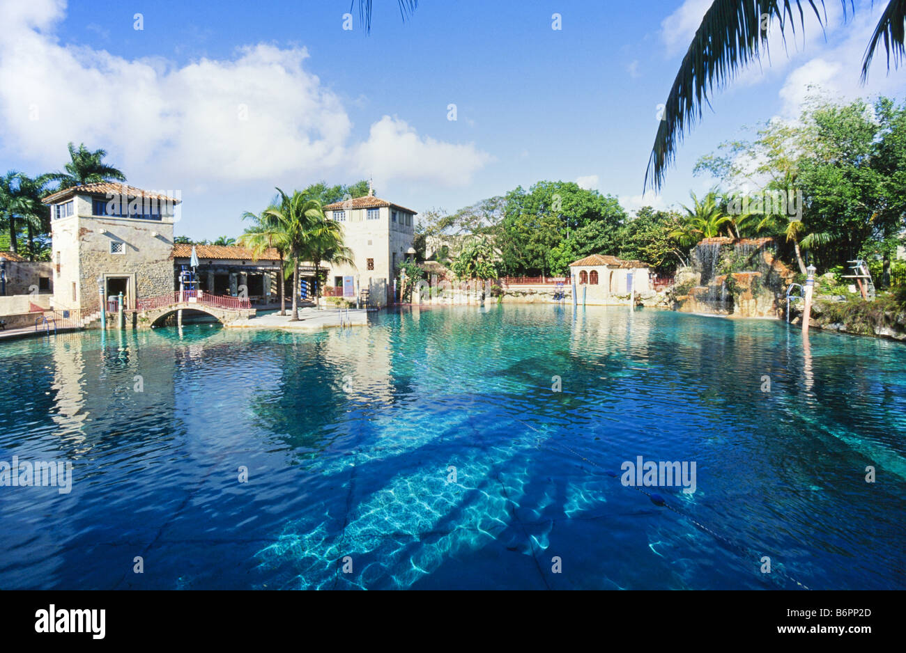 Venetion Pool, public swimming pool, Coral Gables, - Stock Image