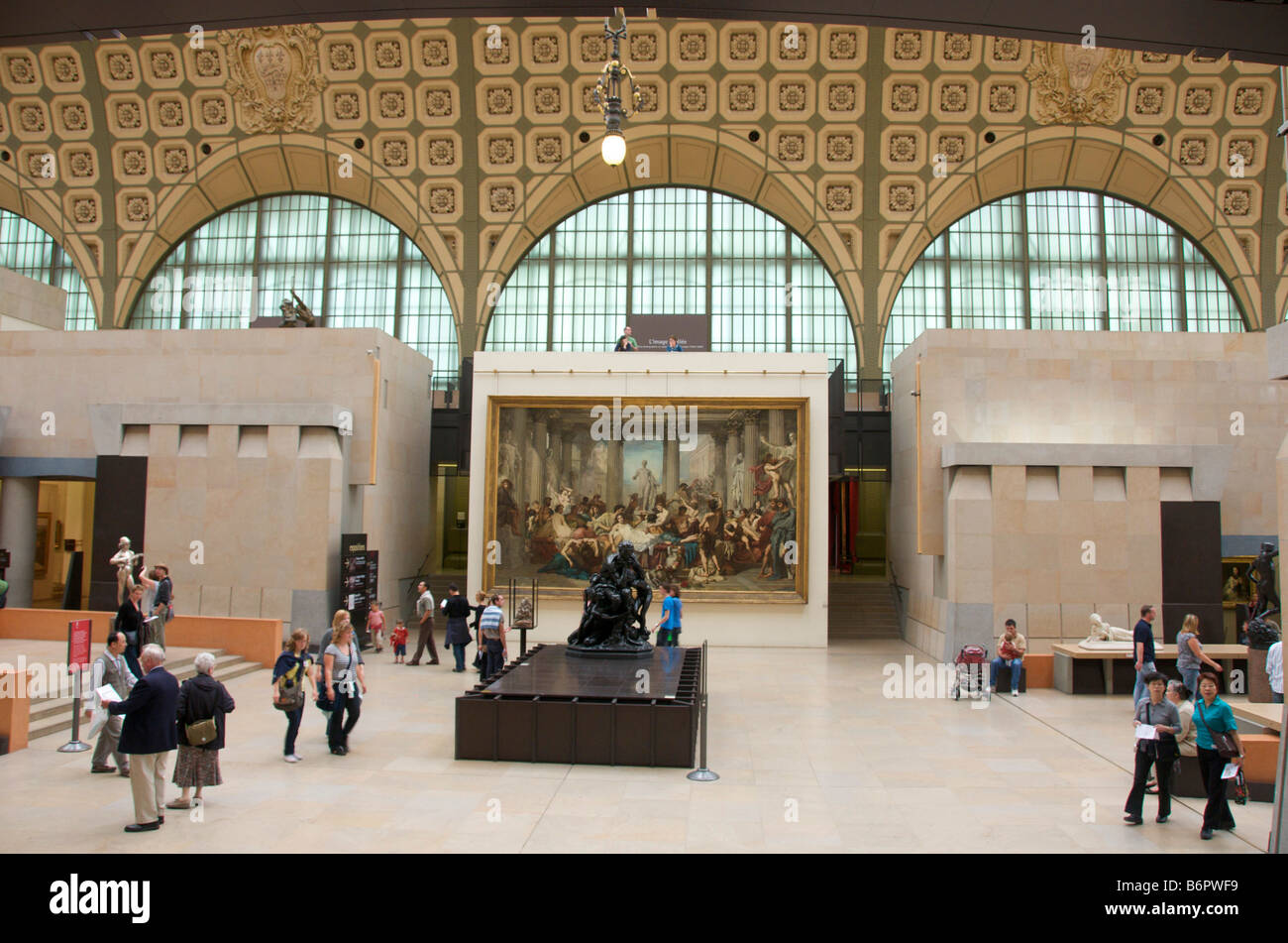 Musée d'Orsay, Orsay Museum, Paris, France - Stock Image