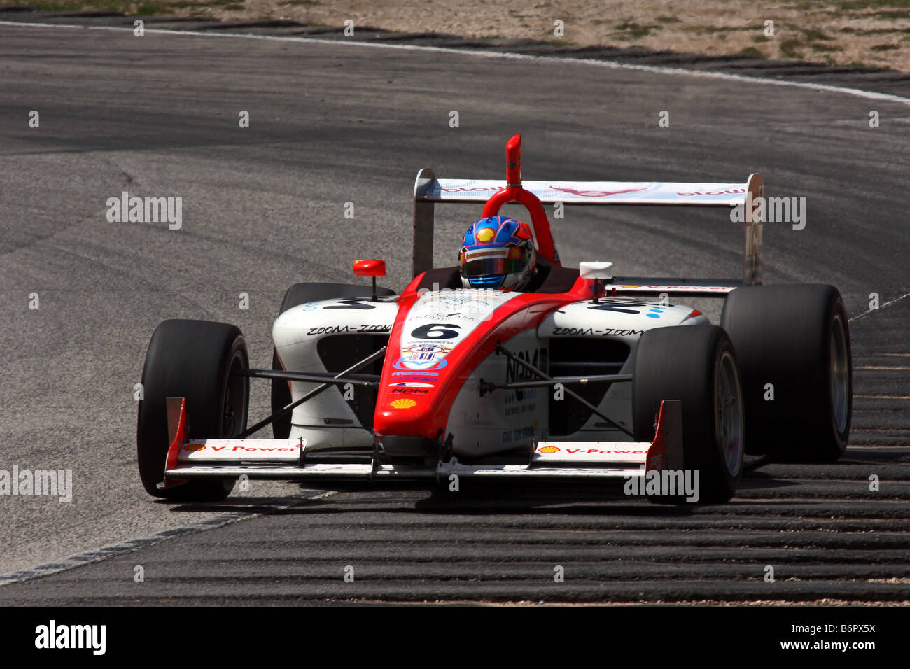 Mazda Formula Atlantic Road America 2008 - Stock Image