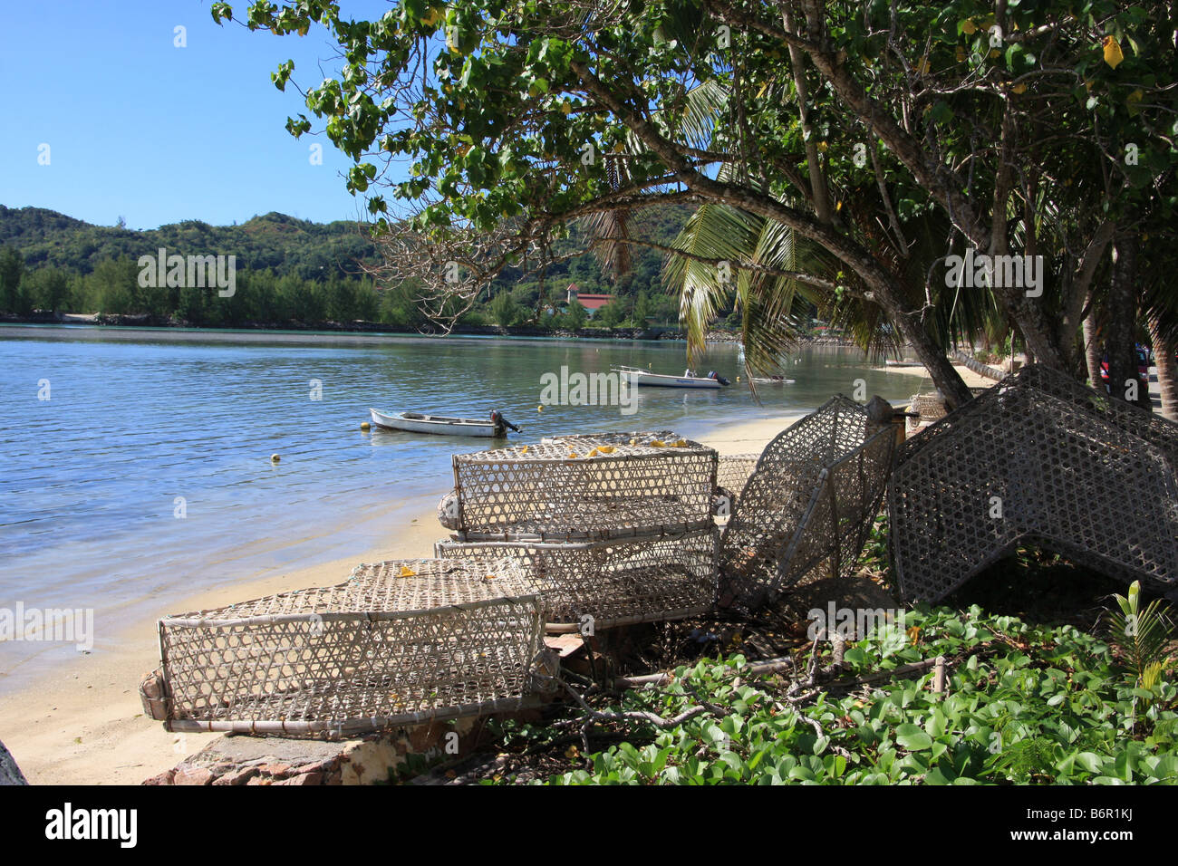 Baie St Anne - Stock Image