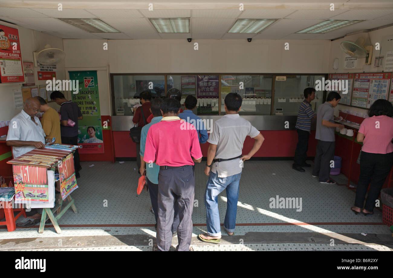 4-digit gamblingin Kuala Lumpur, Malaysia - Stock Image