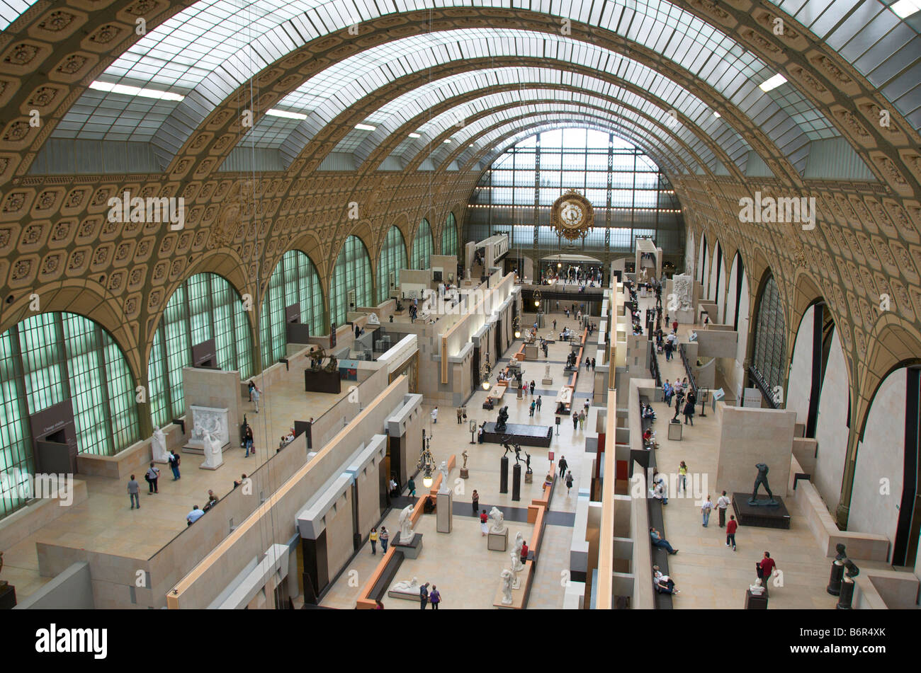 Musee d'Orsay, Orsay Museum, Paris, France, Europe - Stock Image