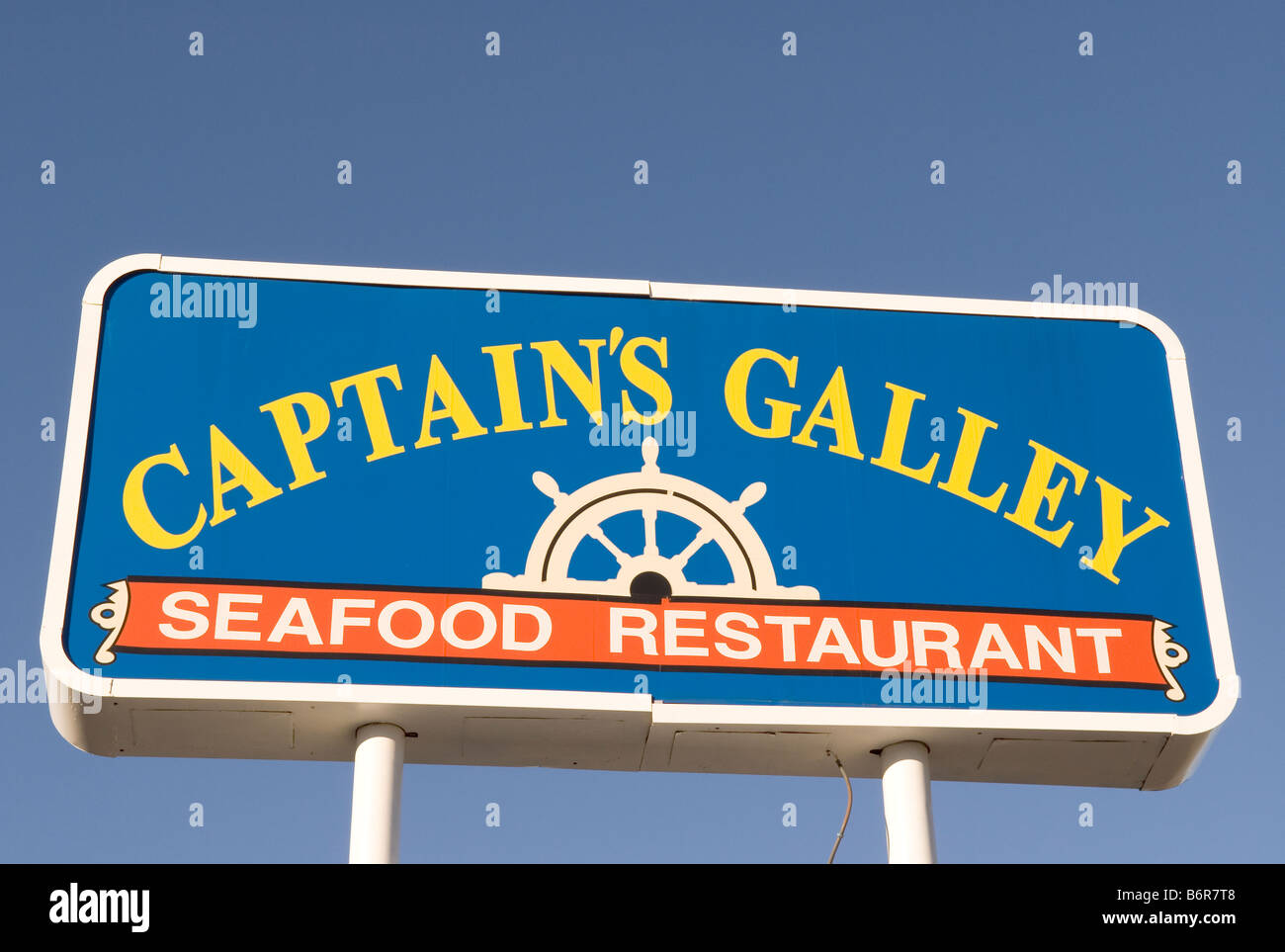 American Seafood Restaurant Chain Stock Photos & American