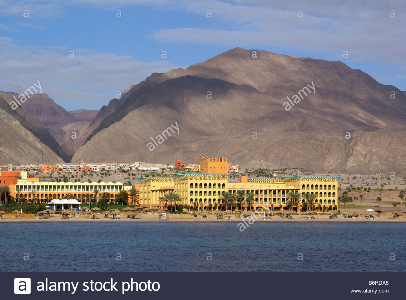 Taba Heights : Intercontinental hotel - Red Sea - Egypt - Stock Image