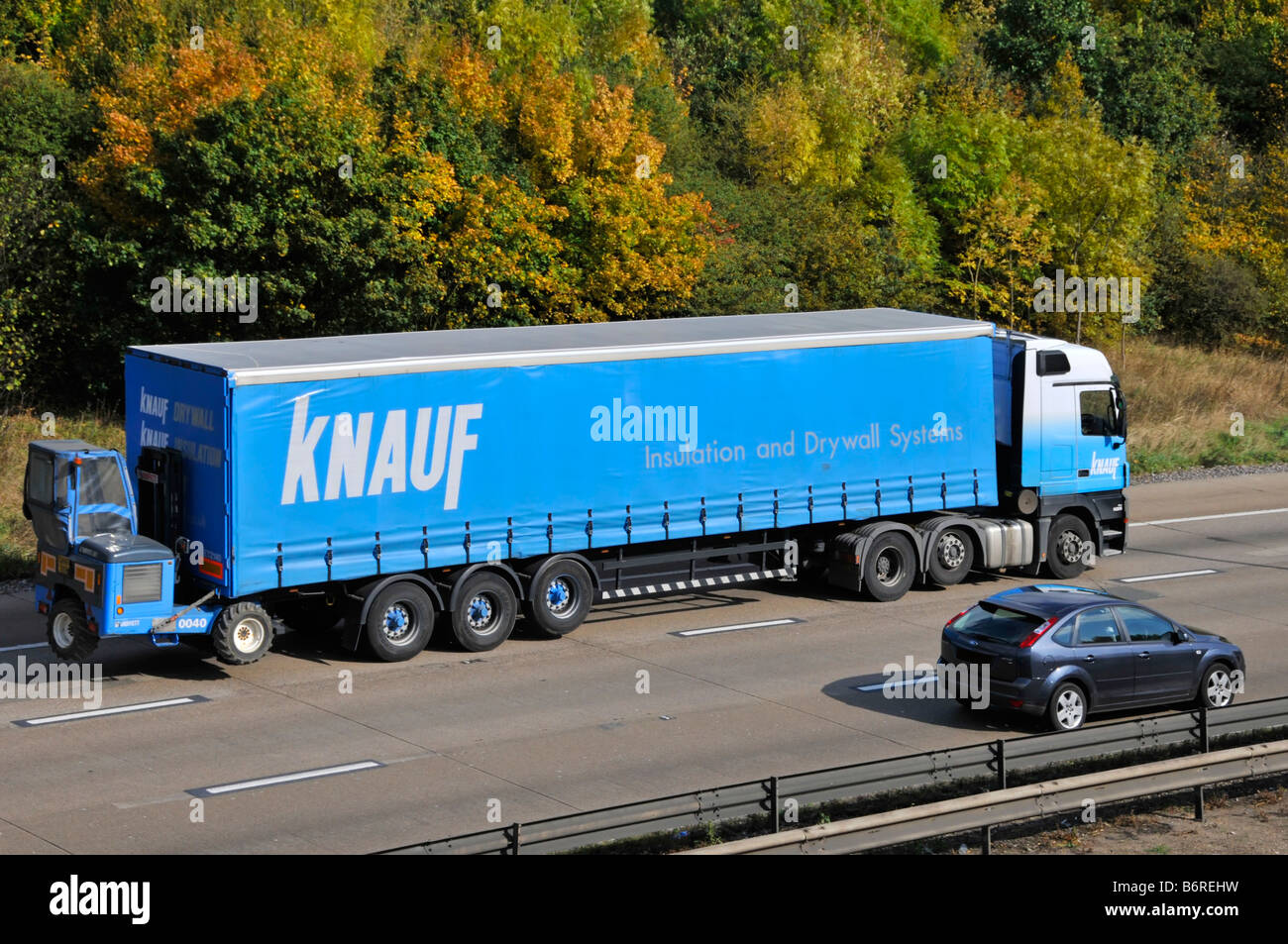 Knauf insulation & dry wall systems products delivery