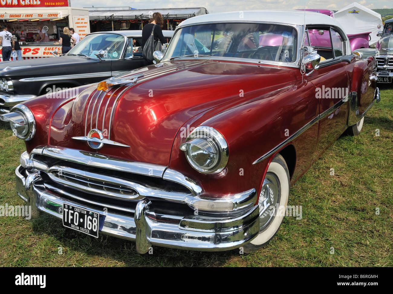 1954 Pontiac Chieftain With 1959 Desoto Fireflite And