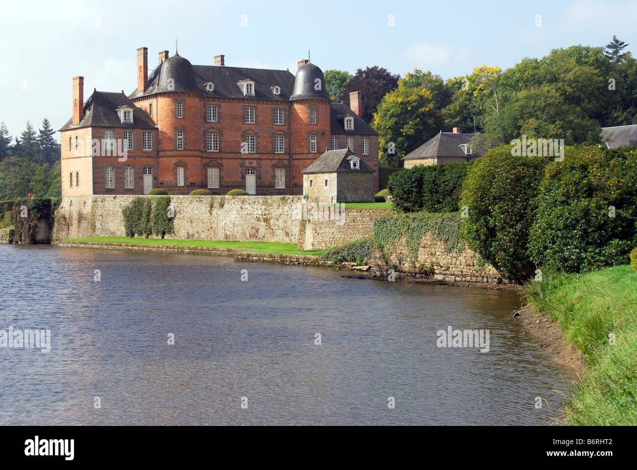 Chateau Couterne, Normandy, France - Stock Image