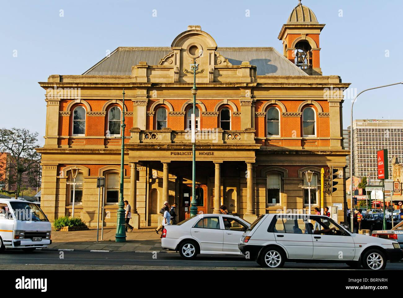 Tourist-Information, Pietermaritzburg, Kwazulu-Natal, South Africa, Africa Stock Photo