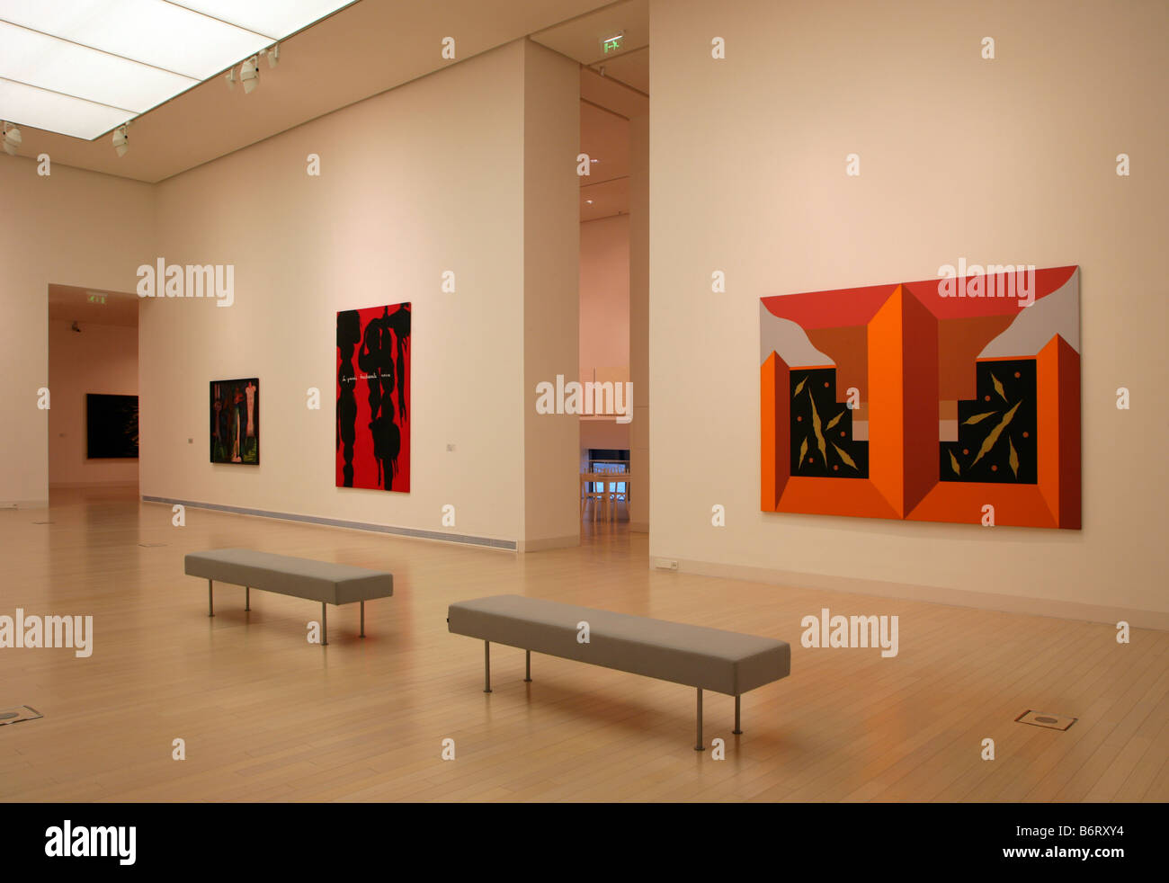 Gallery In Ludwig Museum Museum Of Modern Art Budapest