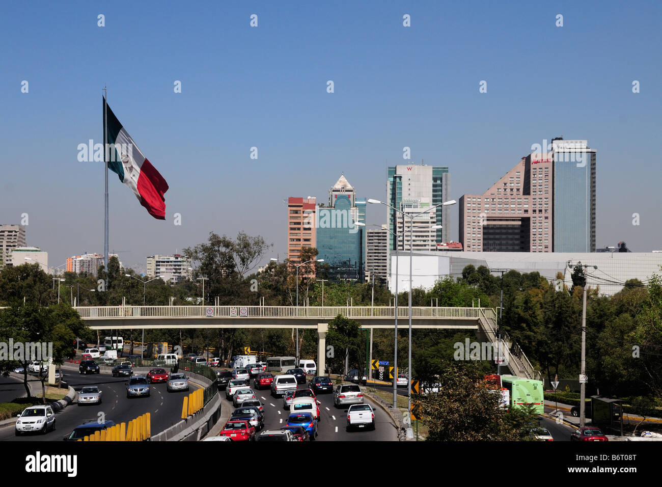 Mexico City Skyline Stock Photos & Mexico City Skyline