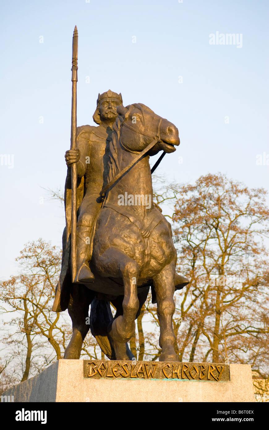 King Boleslaw Chrobry Of Poland - 992-1025 the Brave Bronze Medal