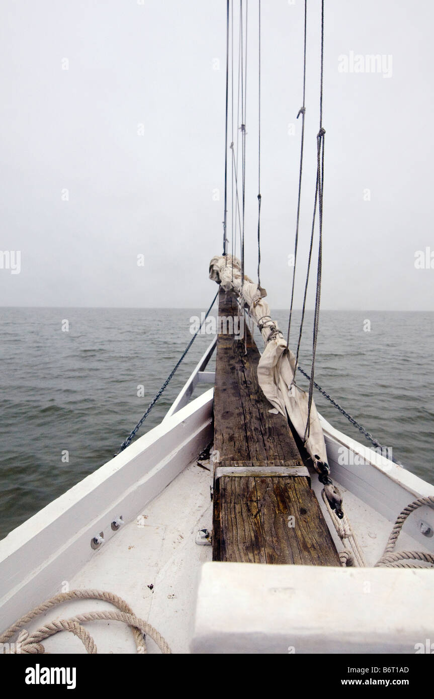 Annapolis Maryland, USA, Skipjack Helen Virginia - Stock Image