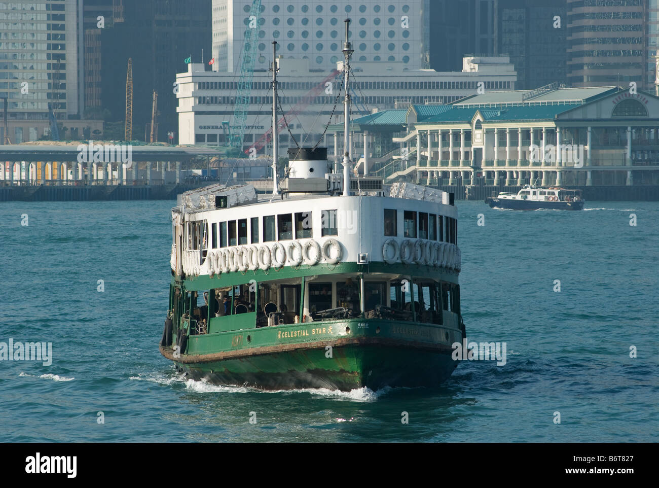 Star Ferry Celestial Star at Hong Kong harbour - Stock Image