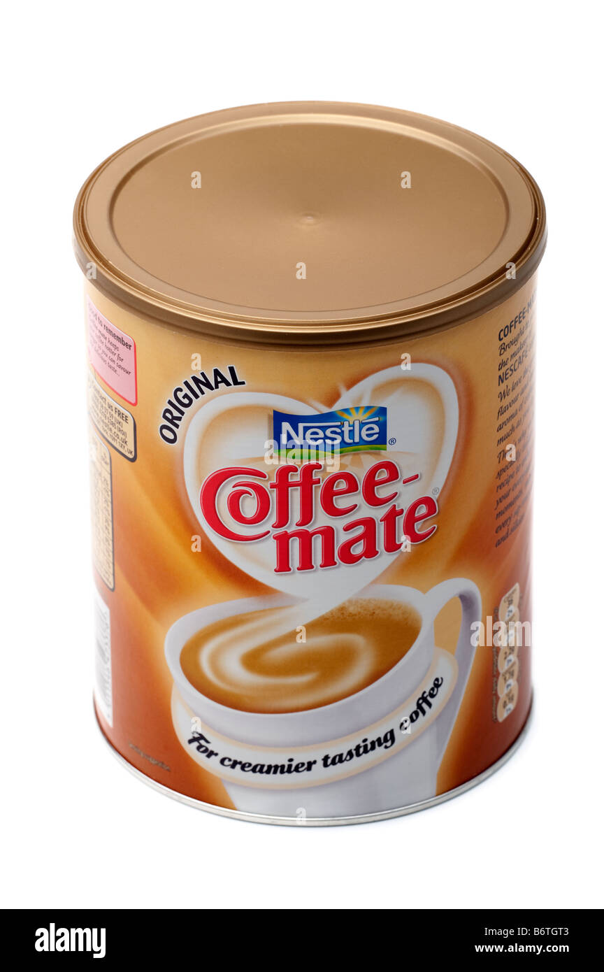1 KG container of Nestle Coffee Mate - Stock Image