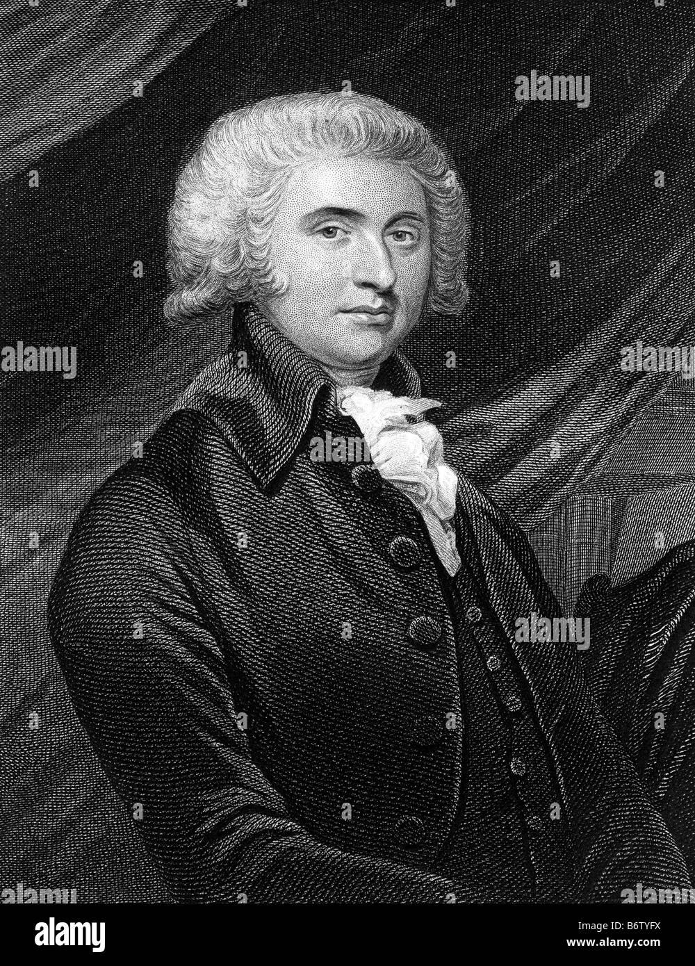 THOMAS ERSKINE Scottish jurist 1750-1823 - Stock Image