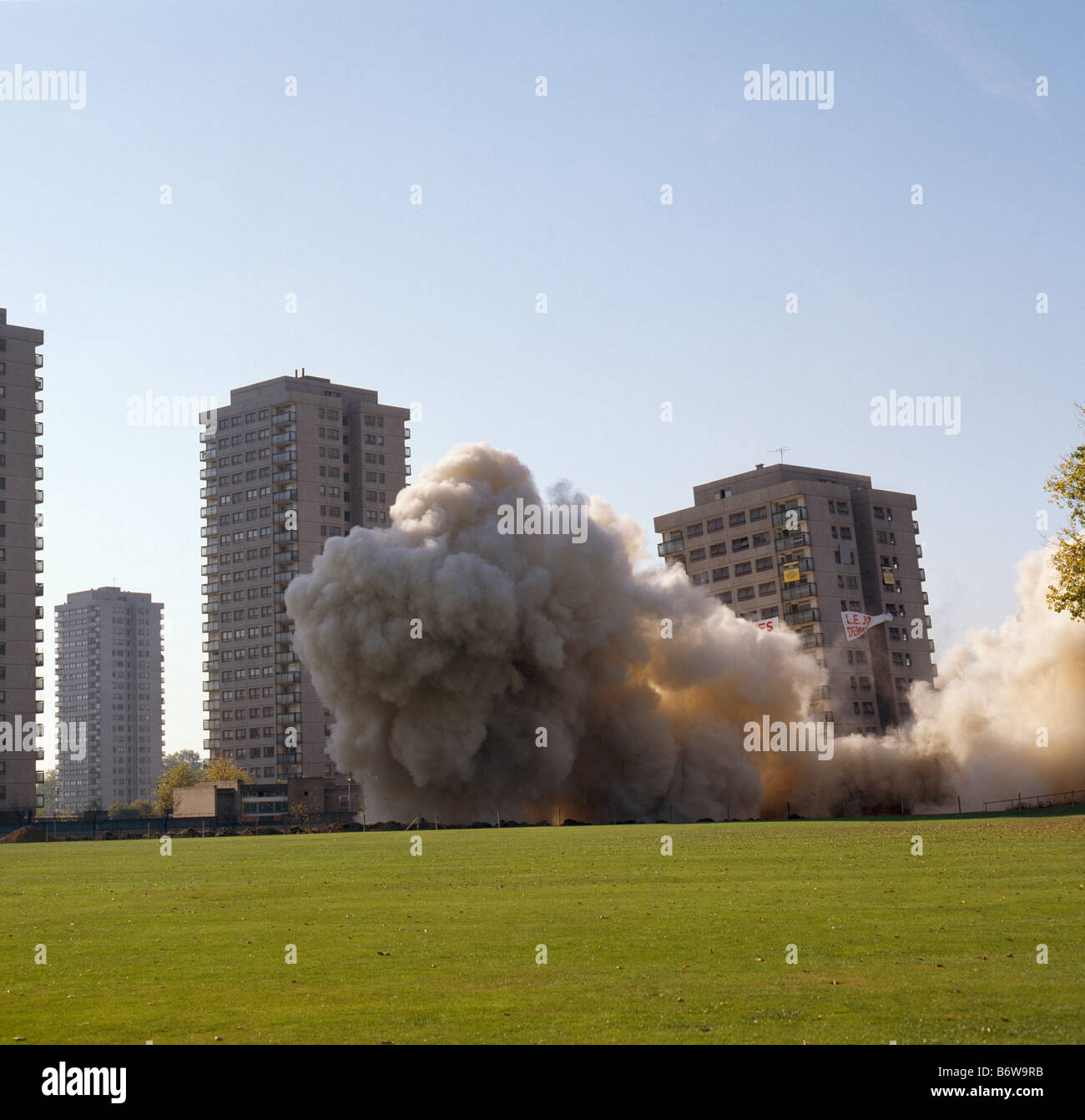 Demolition Northaird Point - Stock Image