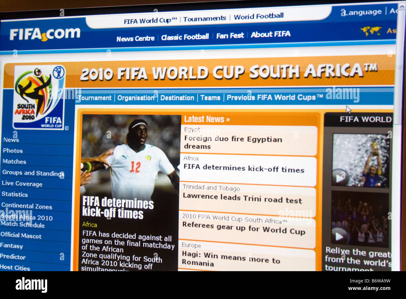 620bb9aba 2010 Fifa World Cup South Africa Stock Photos   2010 Fifa World Cup ...