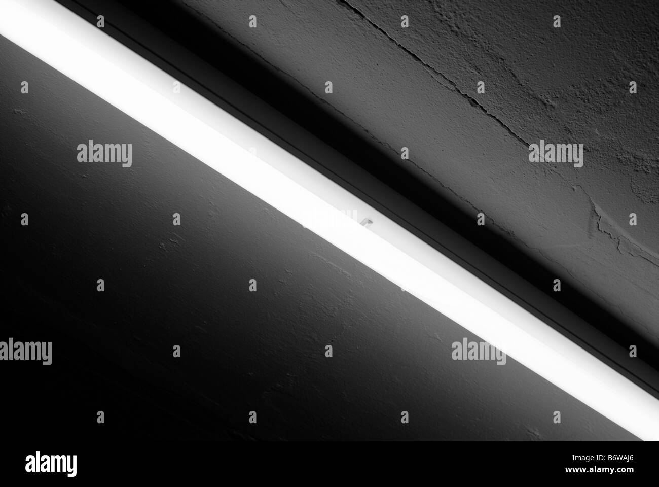 NEON CEILING - Stock Image