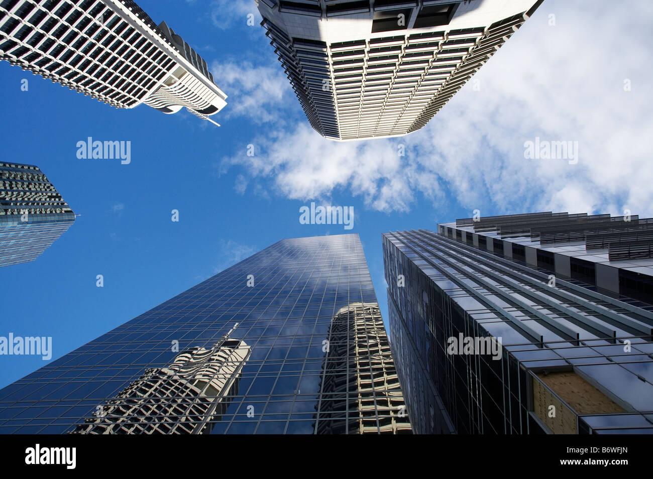 Skyscrapers Brisbane Queensland Australia - Stock Image