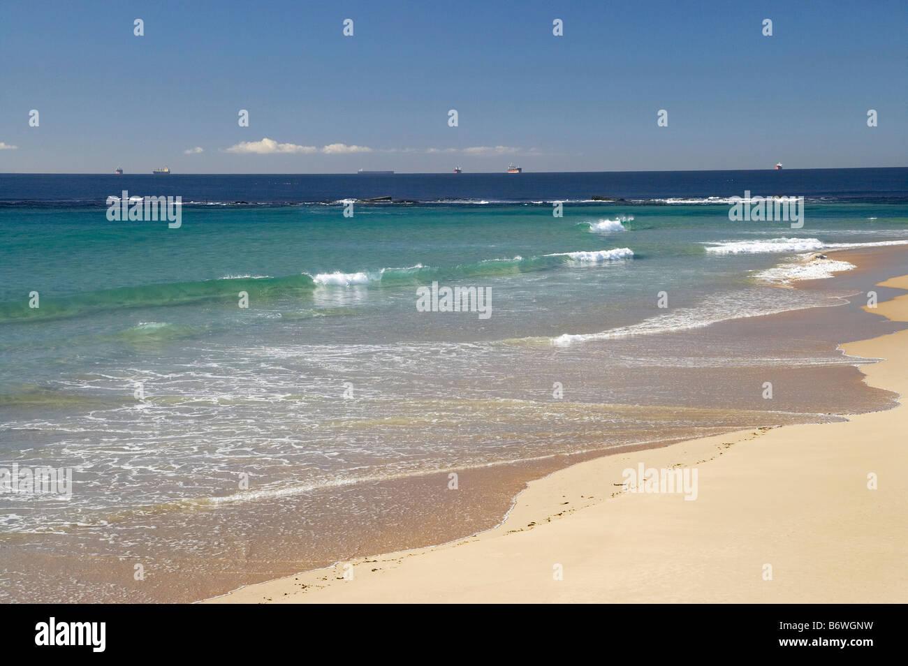 Nobbys Beach Newcastle New South Wales Australia - Stock Image