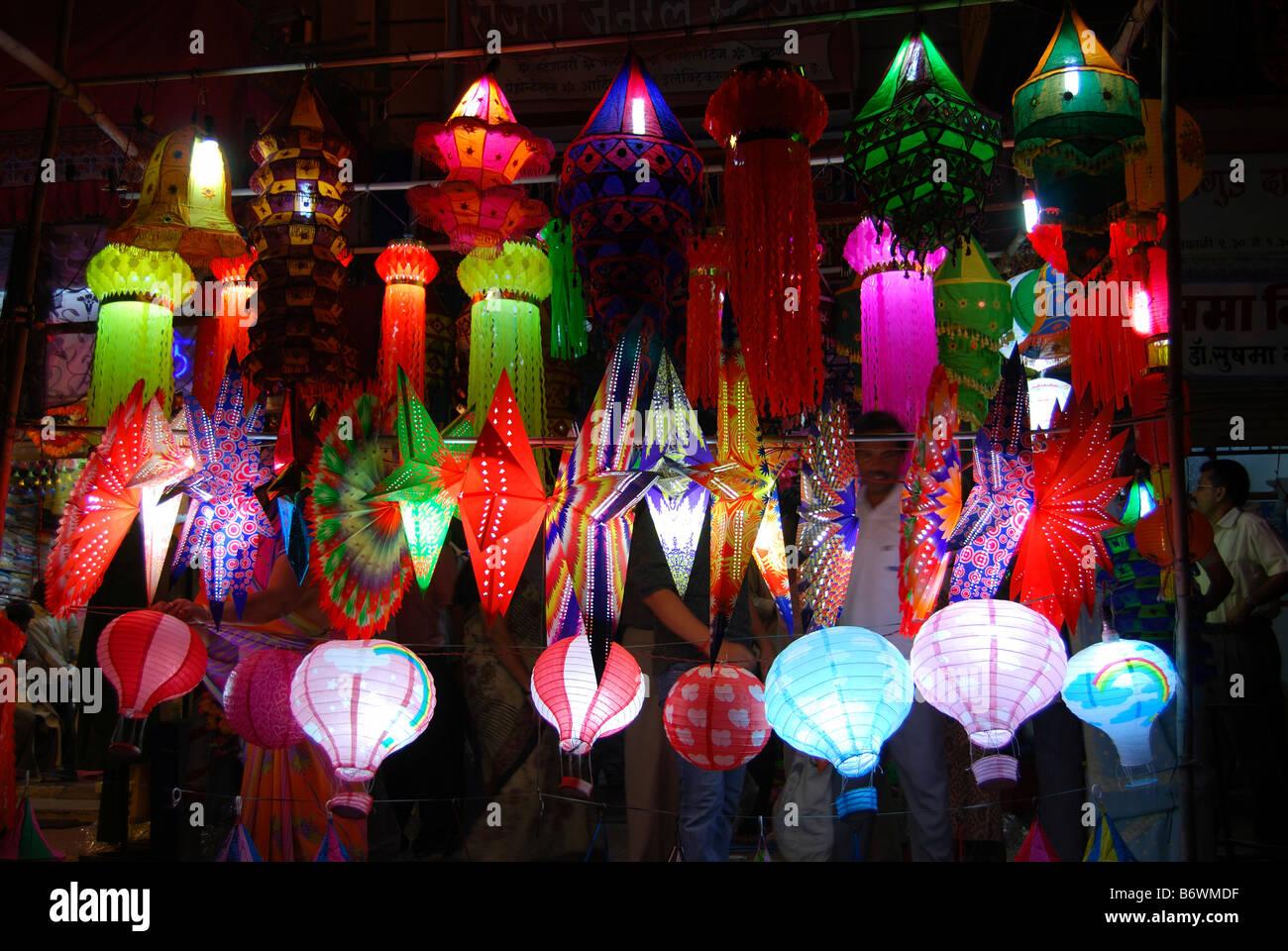 paper lantern shop display stock photos paper lantern shop display