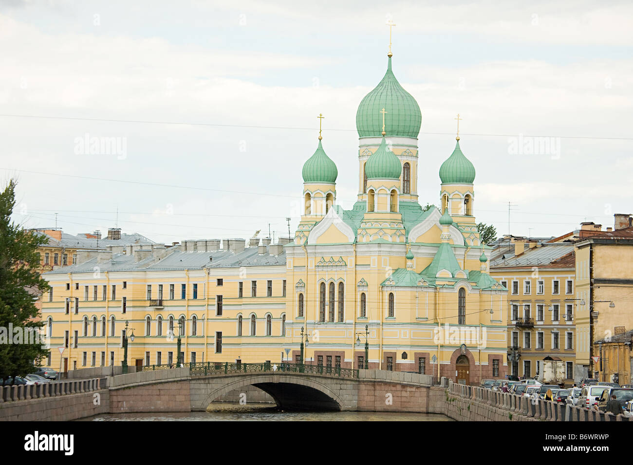 Church in st petersburg - Stock Image