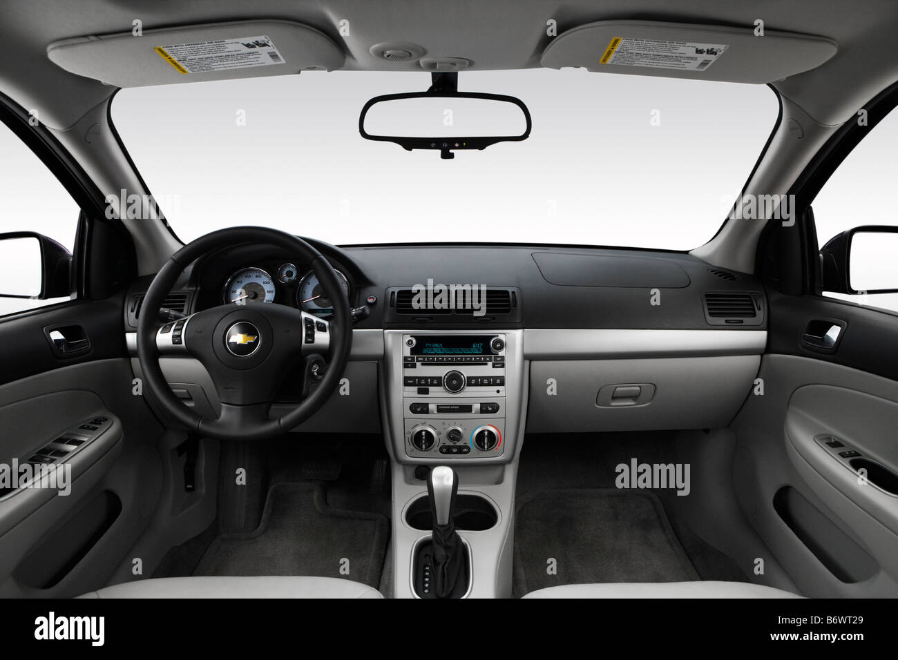 Cobalt chevy cobalt lt 2009 : 2009 Chevrolet Cobalt LT in Blue - Dashboard, center console, gear ...