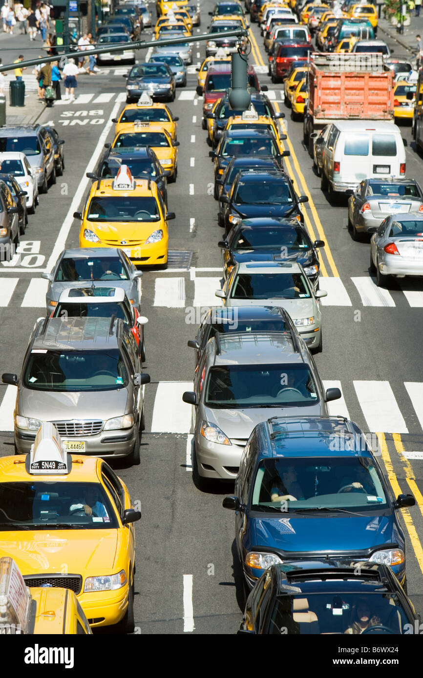 Traffic congestion - Stock Image