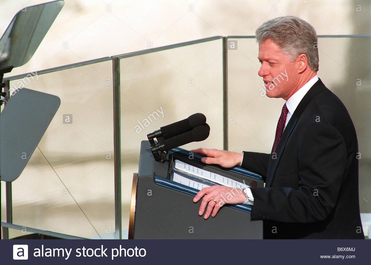 bill clinton second inaugural address