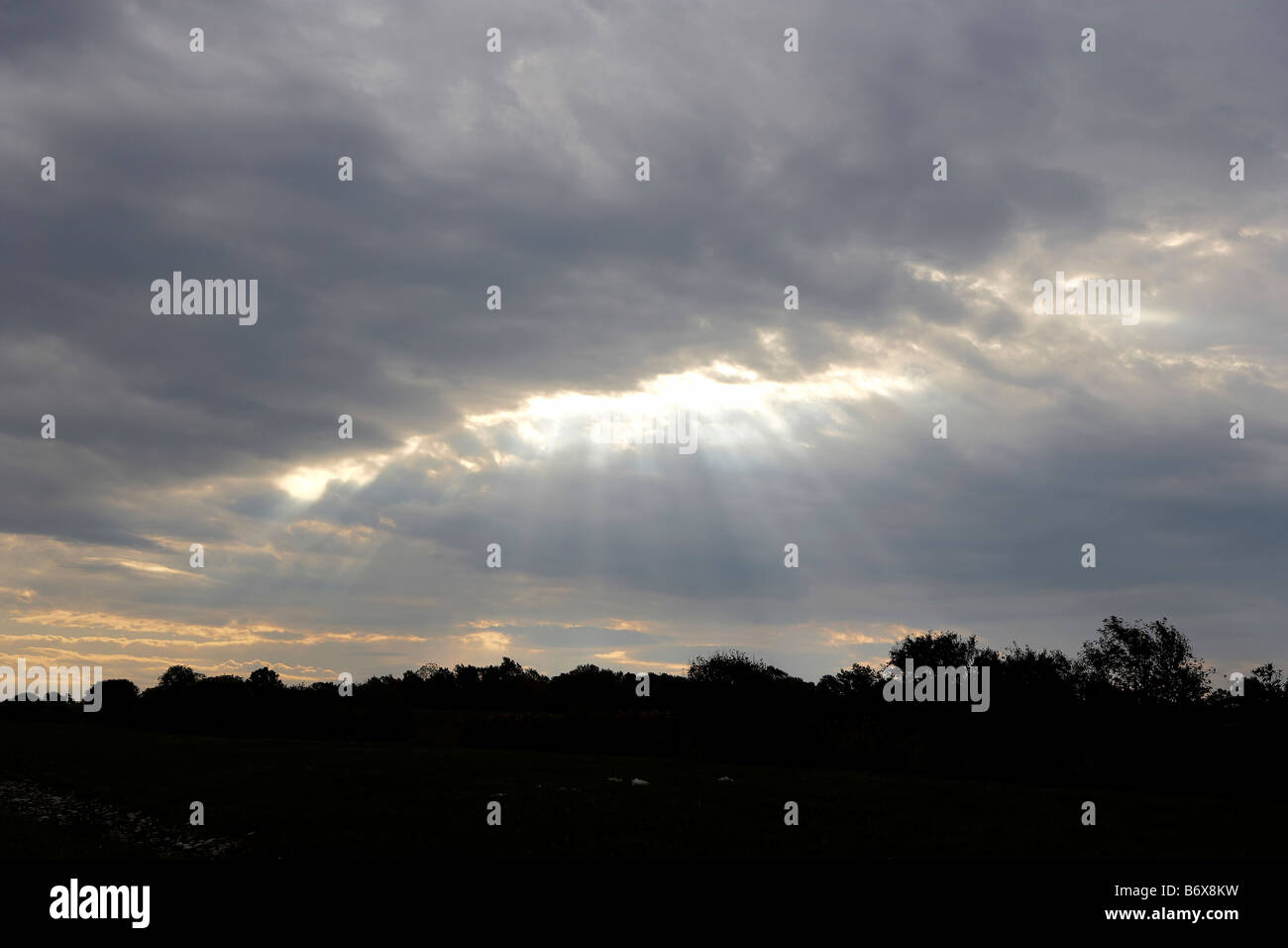 Pennsylvania sky - Stock Image