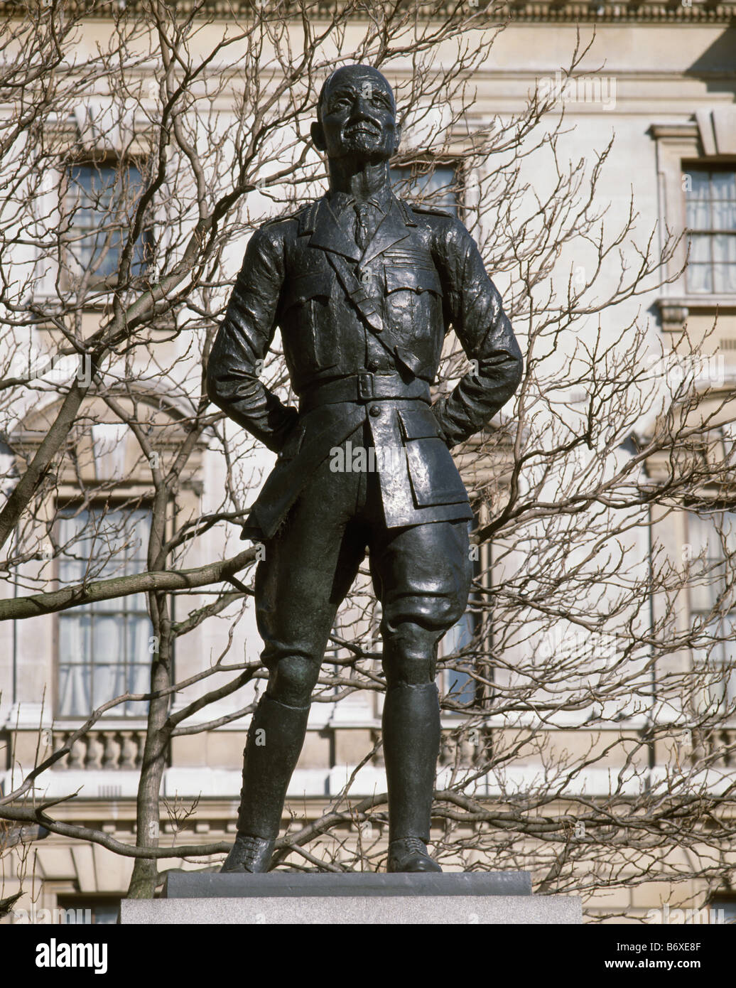 General Smuts, By Jacob Epstein - Stock Image