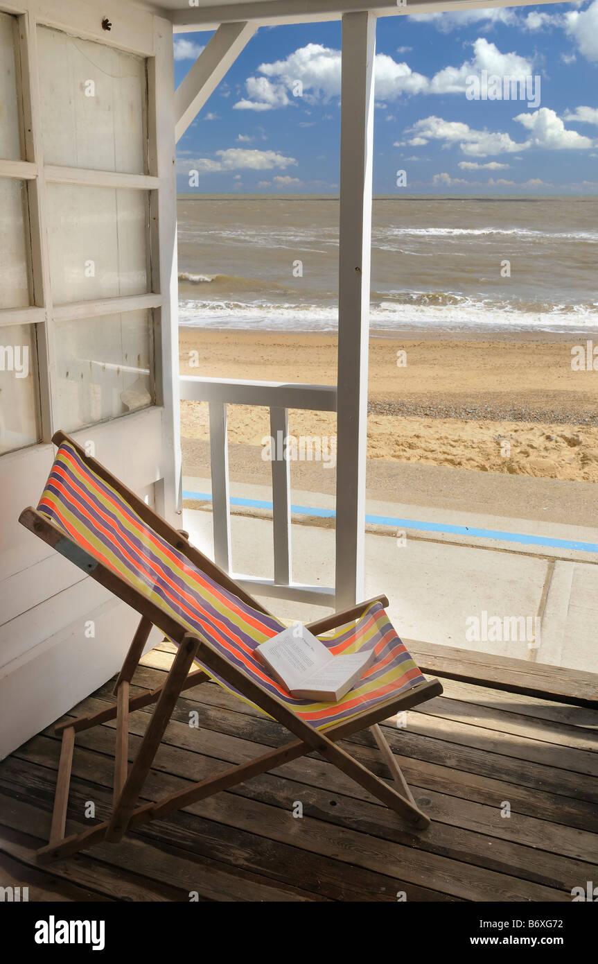 The Beach Hut - Stock Image