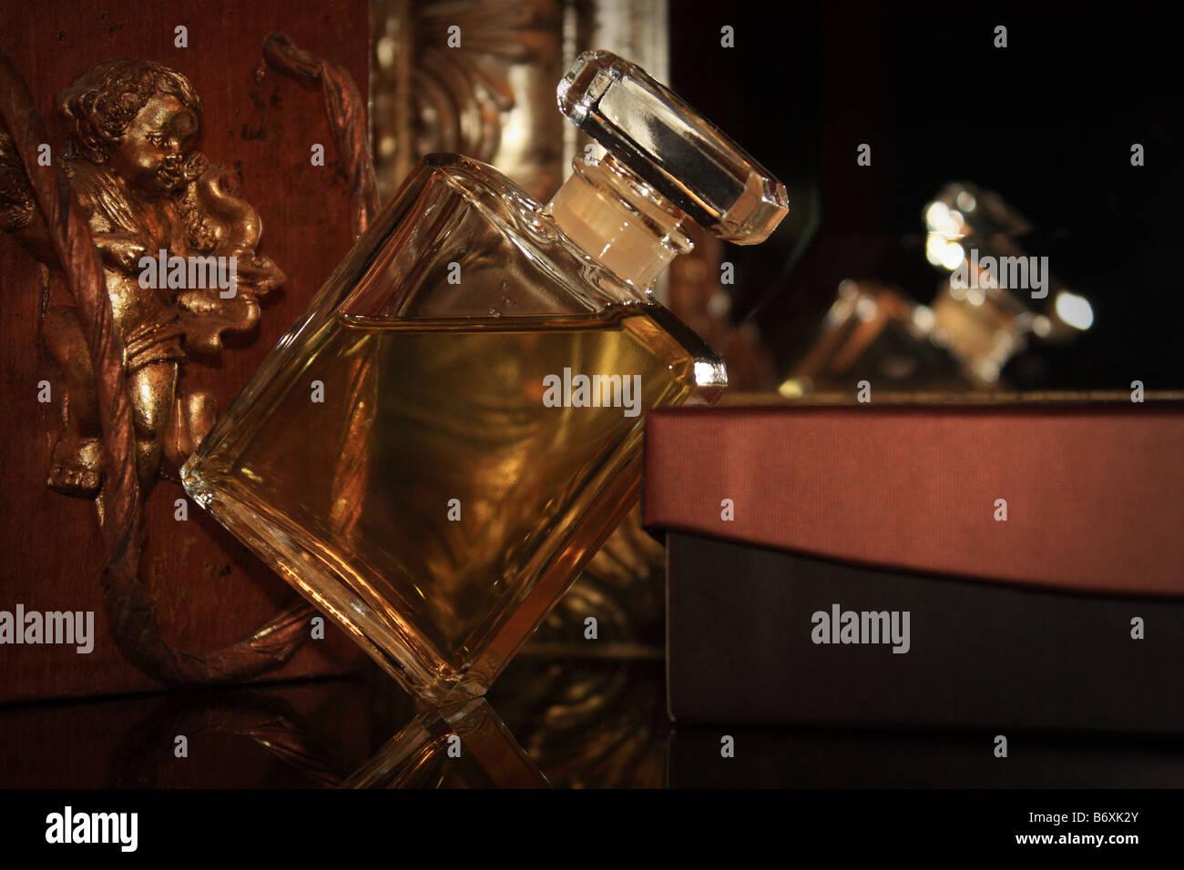 Perfume bottle - Stock Image