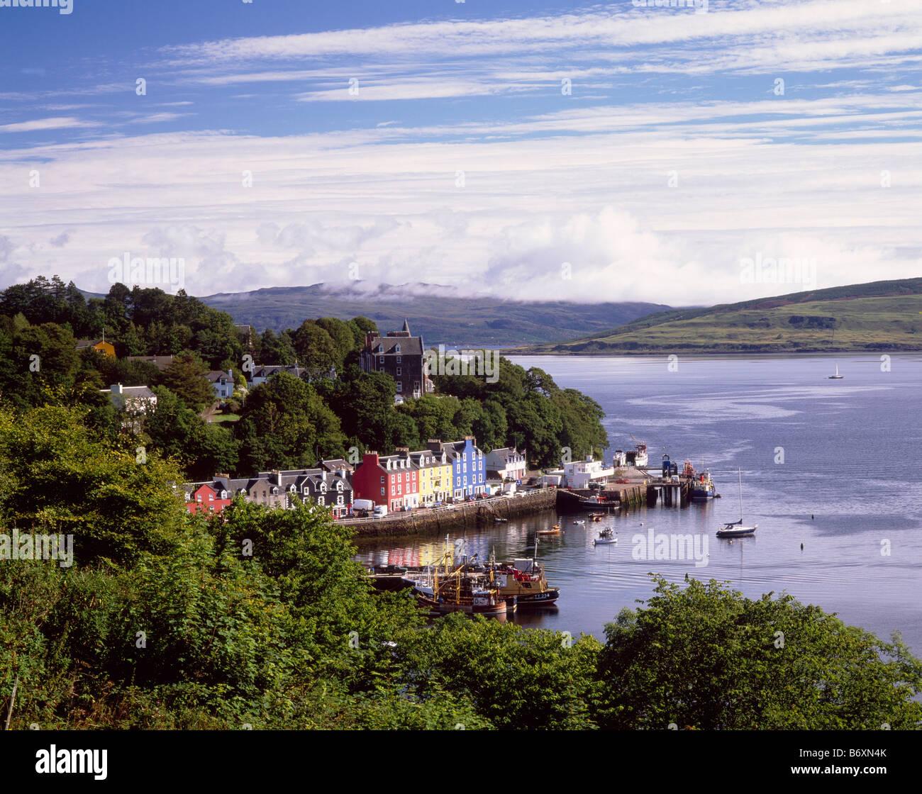 Tobermory, Isle of Mull, Argyll and Bute, Scotland, UK.  Setting of the childrens television programme Balamory. - Stock Image