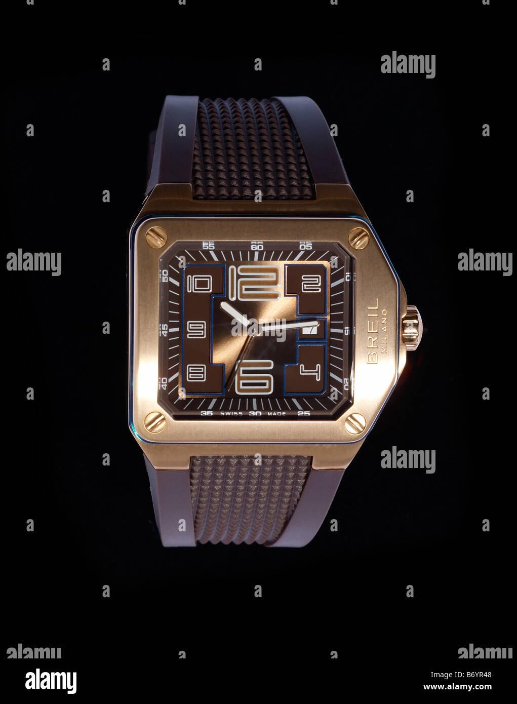 Breil wristwatch - Stock Image
