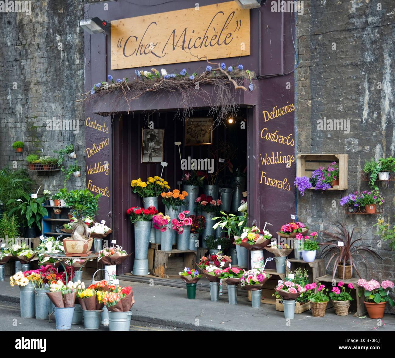 "Flower Shop ""Borough Market"" London Stock Photo: 21524878"