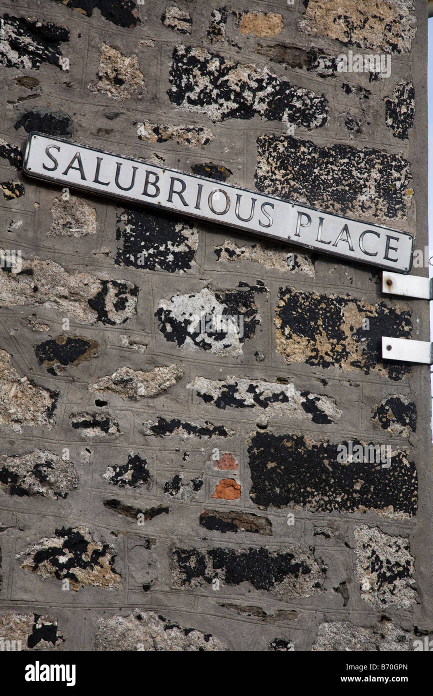 salubrious place st ives cornwall - Stock Image