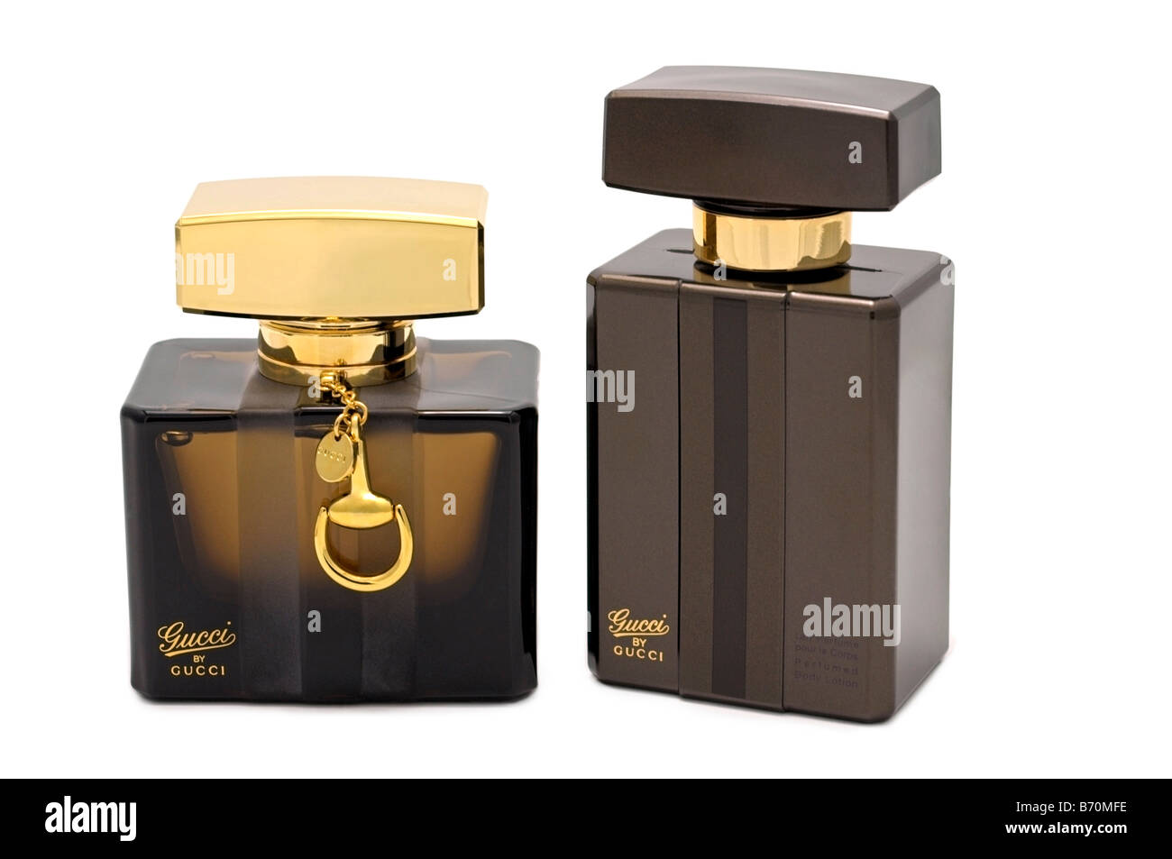 Gucci by Gucci Perfume and Lotion - Stock Image