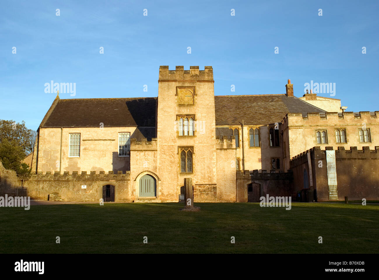 Torre Abbey is the oldest building in Torquay. It has a story spanning 800 years Abbey,Premonstratensian - Stock Image