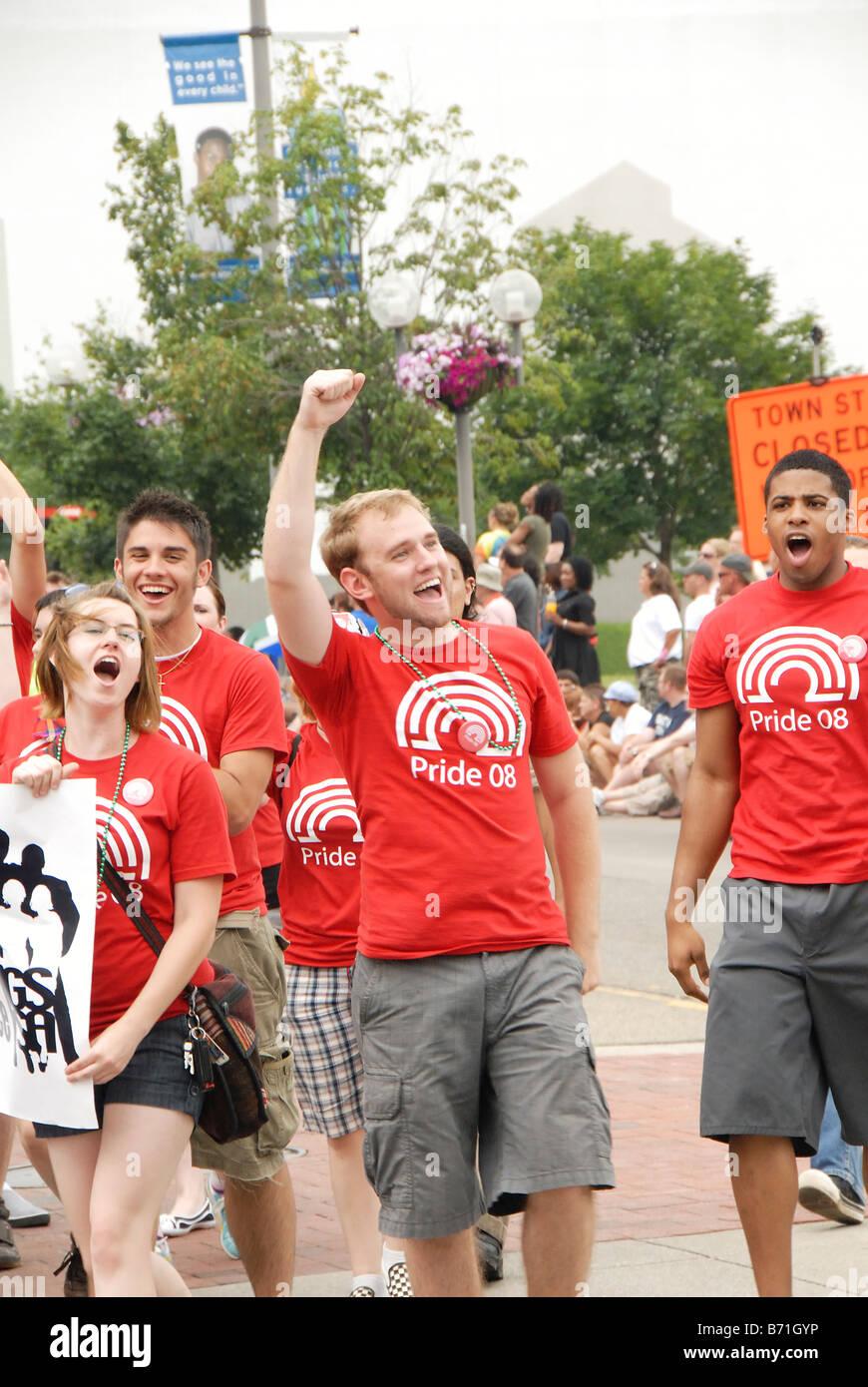 Washington dc gay pride parade 2008