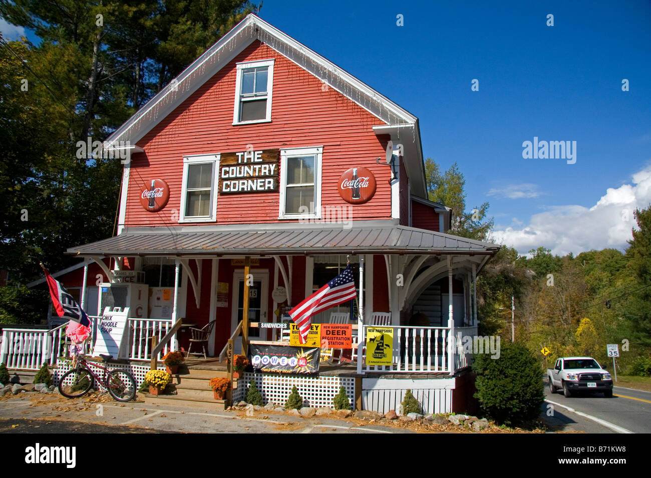 The Country Corner General Store Located In Davisville New Hampshire