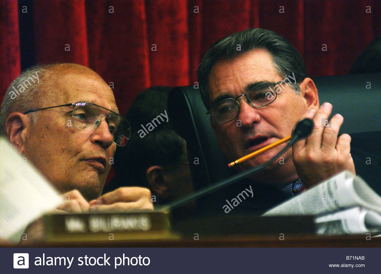 9 19 02 ENERGY CONFERENCE House Energy Ranking Democrat John D Dingell D  Mich And Chairman