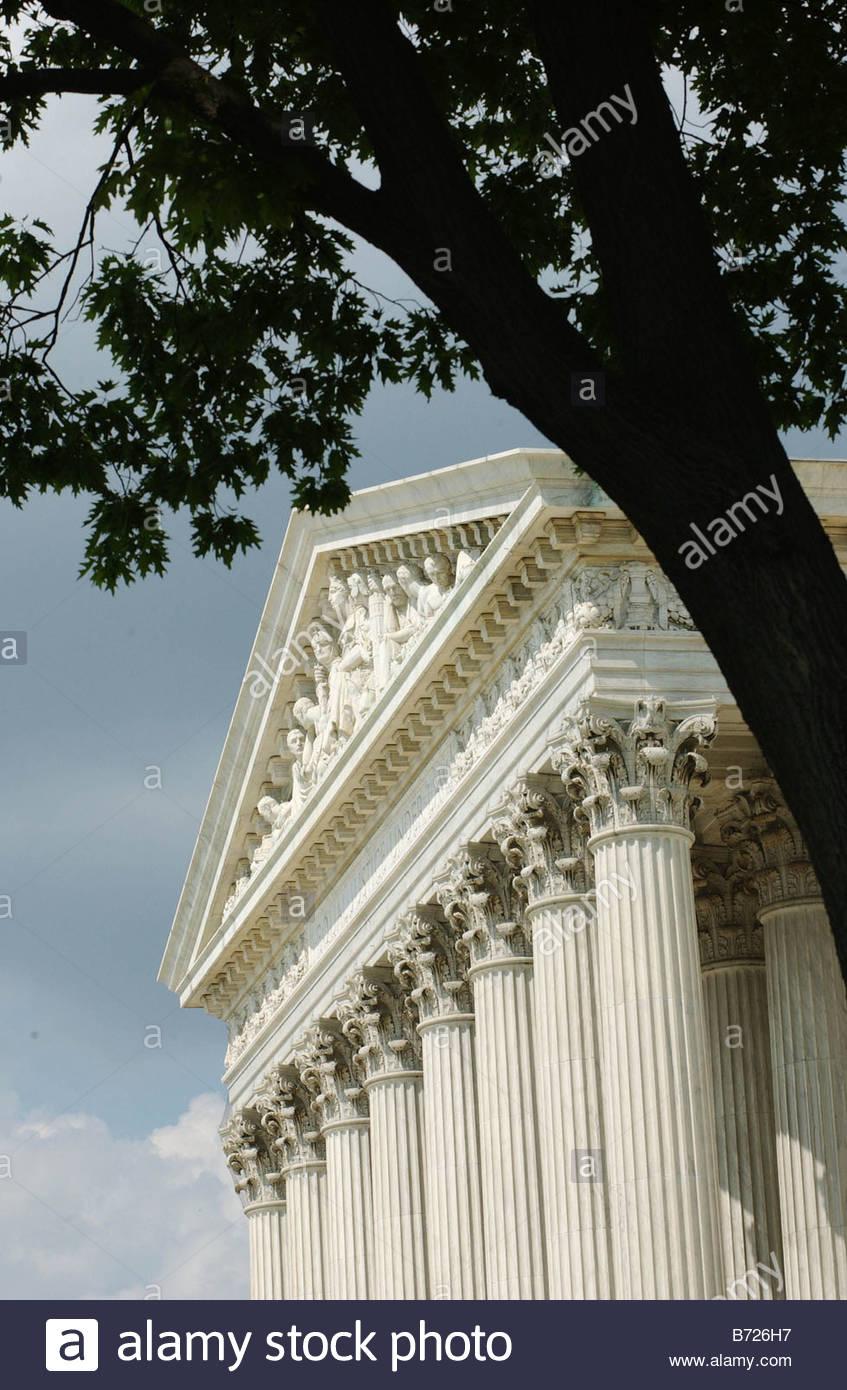 5 7 03 U S SUPREME COURT CONGRESSIONAL QUARTERLY PHOTO BY SCOTT J FERRELL - Stock Image