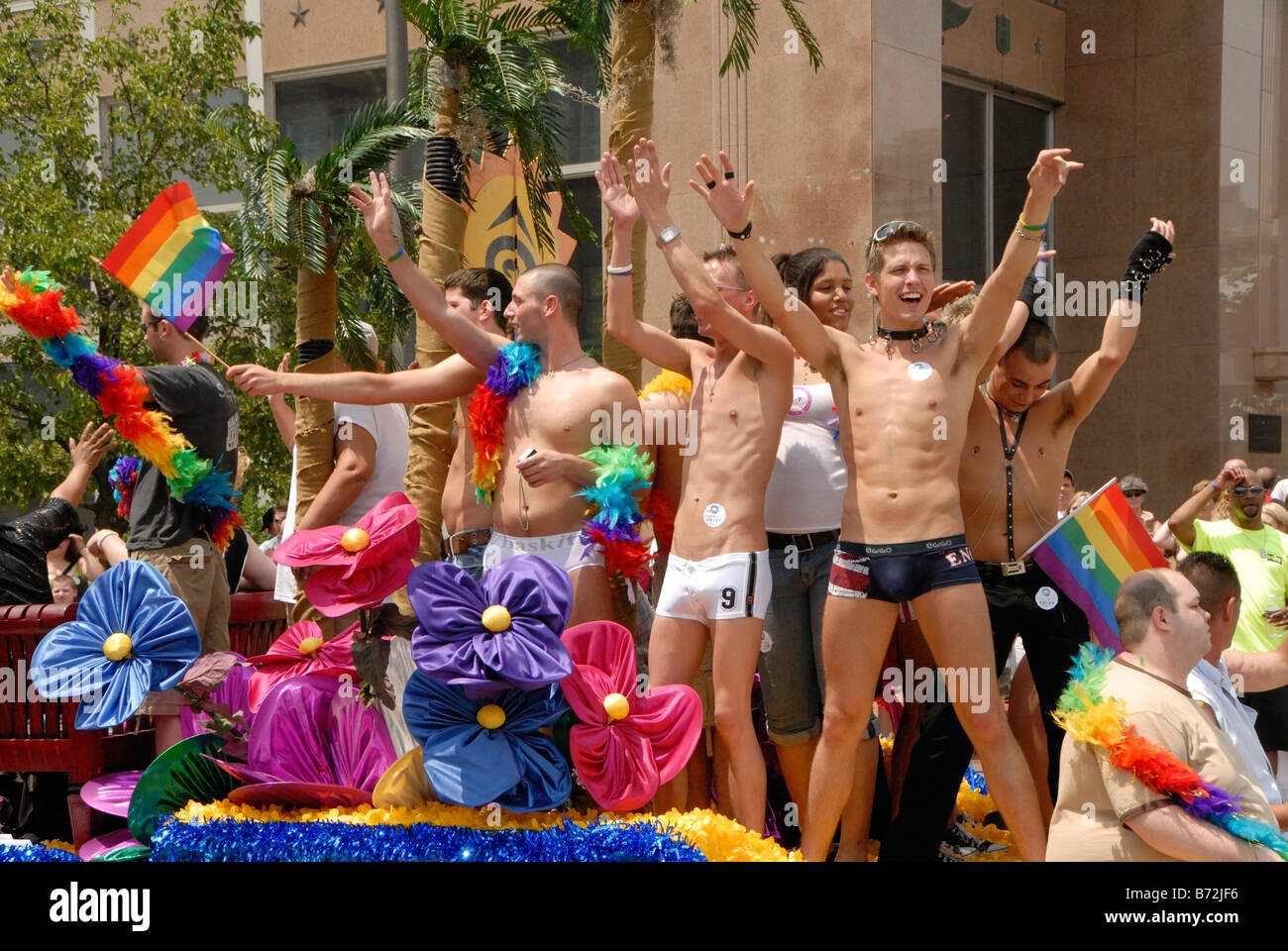 Gay pride parade columbus